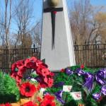 A cenotaph (war monument) in Manotick ,Ontario