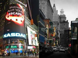 Times Square, New York: JasonParis and  Bourbon Street, New Orleans: Kyle Monohan, Creative Commons, some rights reserved
