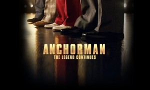 Official Anchorman 2: The Legend Continues Poster