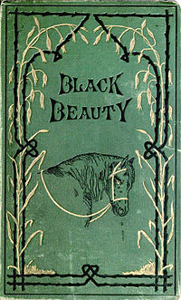Cover from Anna Sewell's 1877 horse classic, Black Beauty. Photo: Wikipedia