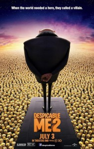 Official Despicable Me 2 Poster
