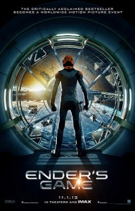 Official Ender's Game Poster