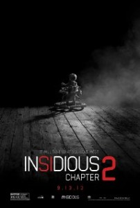 Official Insidious: Chapter 2 Poster