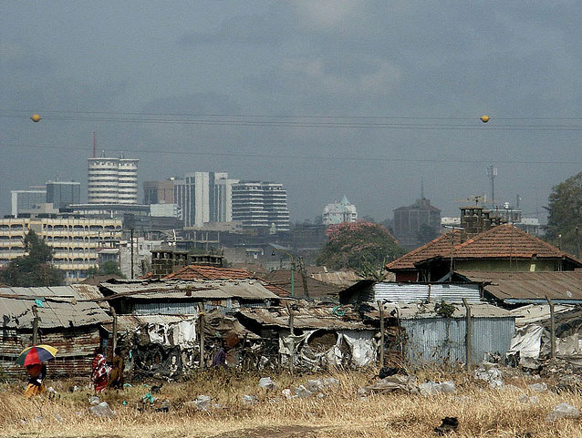 Nairobi skyline. Photo: Martinen van Asseldonk (with permission of the photographer, all rights reserved)