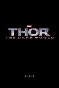 Thor: The Dark World Official Poster