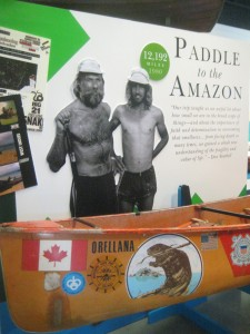 You'd think it impossible, but yes, apparently one can paddle a canoe from Manitoba to the Amazon.
