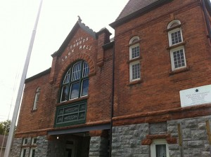 The Edwards Opera House (and Town Hall), refurbished and reclaimed for performances in recent years.