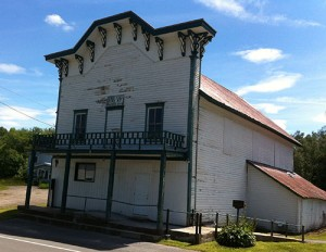 Fine Town Hall, an historic building no longer in use.