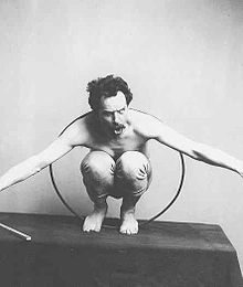 "Franz Boas, considered by some the ""Father of American Anthropology,"" posing for a"