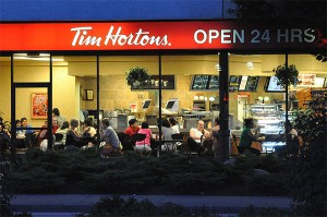 "Tim Hortons. According to the photographer, ""The one thing that unites Canadians of all backgrounds, languages and ethnicities..."" Photo: Doug, Creative Commons, some rights reserved"