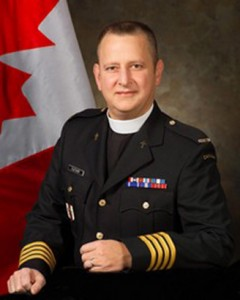 Brig.-Gen. John Fletcher (shown here before his recent promotion from colonel), chaplain general of the Candain FOrces. Photo: Department of National Defence and Canadian Forces