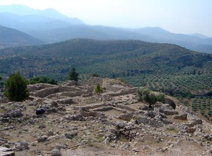 Ruins of Mycenae--a victim of prolonged drought? Photo: David Monniaux, Creative Commons, some rights reserved