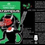 Label or Krampus Beer, from Southern Tier Brewing Company