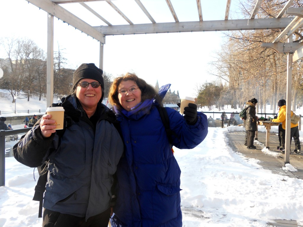 Winterlude Barb and Lucy