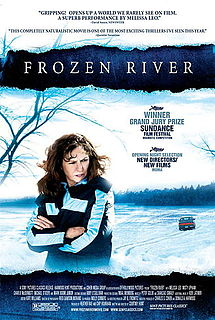 Frozen River poster.