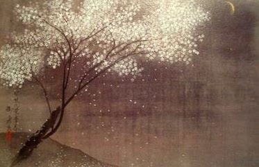 Spring Evening, Hayami Gyoshu, 1934