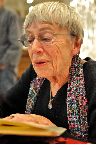 Ursula LeGuin. Photo:
