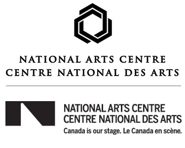 Logos for the National Arts Centre: the old (above) and the new. Images: NAC