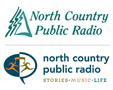 NCPR logos: old (above) and new.