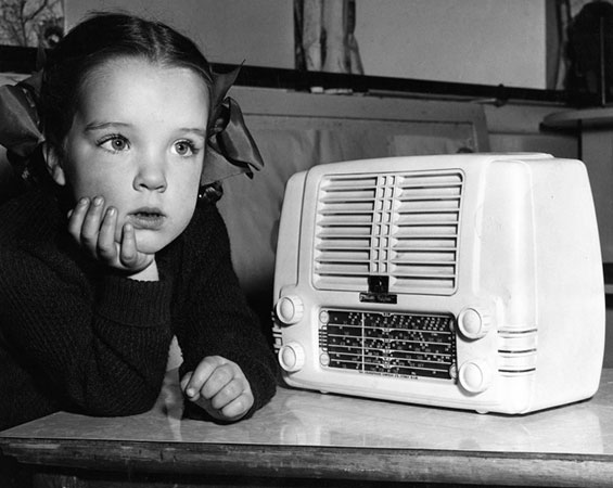 This is the desired  response to good radio. Photo: Australian Broadcasting Company, Creative Commons, some rights reserved