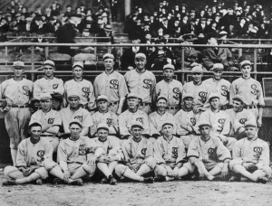 1919 Chicago White Sox team photo (source: Wikipedia)