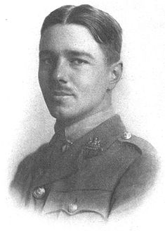 Poet Wilfred Owen. Photo via Wikipedia.
