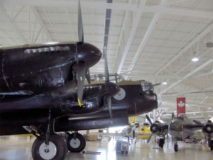 Side view of a RCAF Avro Lancaster Mk. X at the Canadian Warplane Heritage Museum. Photo: Redkyponite, Creative Commons, some rights reserved