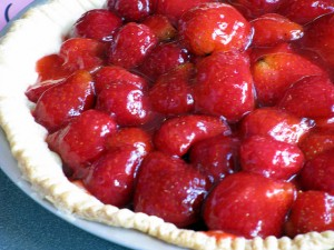 Strawberry pie. Photo: The Alliance for Historic Hillsborough, Creative Commons, some rights reserved