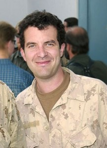 Comedian Rick Mercer visits Canadian forces in Afghanistan in 2005. Image by jmbone, Creative Commons, some rights reserved