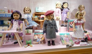 Display at an American Girl doll store in Chicago. Photo: Ambernectar 13, Creative Commons, some rights reserved