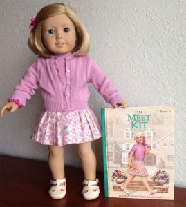 "American Girl doll ""Kit Kittredge,"" with book, offered on eBay with a starting bid of $69.99. Photo: thediaperbaker1"
