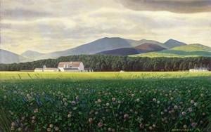 """""""Clover Fields,"""" Rockwell Kent"""
