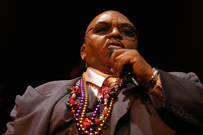 "Solomon Burke--his version of ""How I Got to Memphis"" was the theme song at my wedding. Photo credit: Tom Beetz"