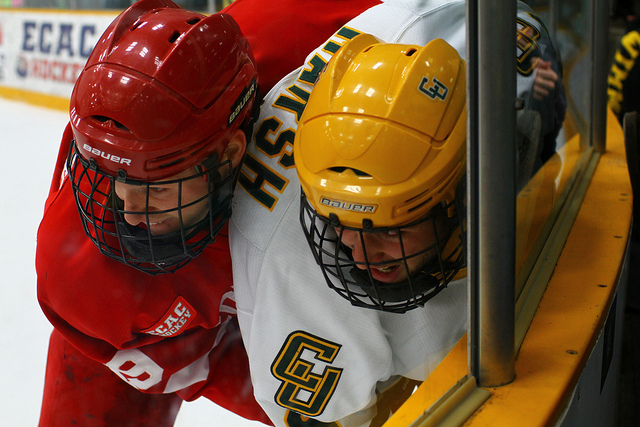 Clarkson vs. Cornell. Photo: Chris Waits, via Creative Commons, some rights reserved