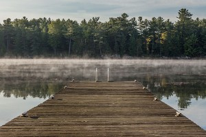 A good landing place: misty morning in the Thousand Islands. Photo: Duncan Rawlinson, Creative Commons, some rights reserved