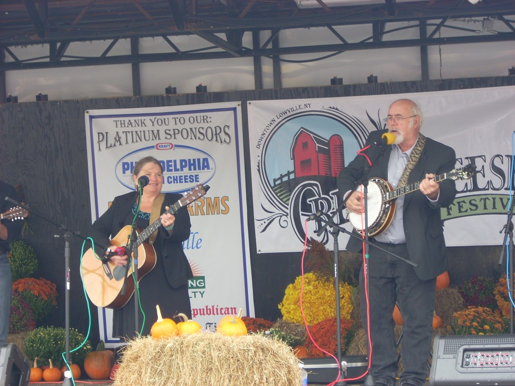 The Atkinsons delivered a great set of bluegrass music!  This is Shelene and Dick, matriarch and patriarch of the band.