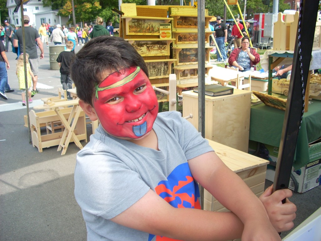 ... and lots of face painting.