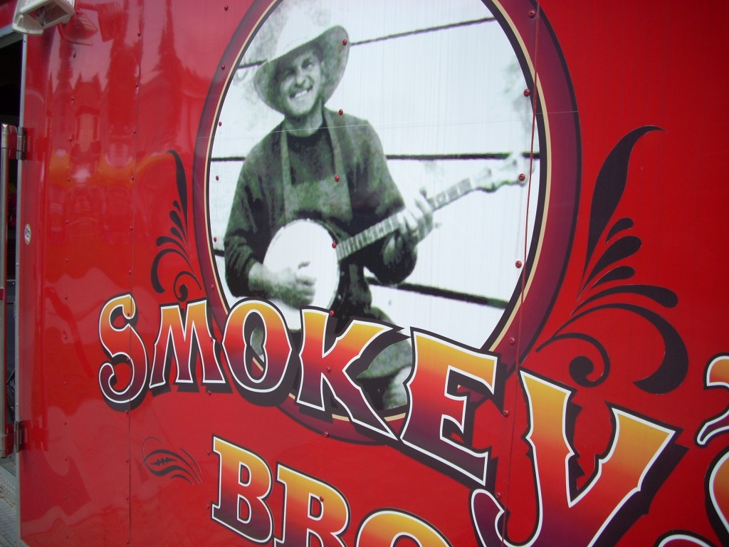 What does a banjo have to do with BBQ???  I feel a banjo joke coming on....