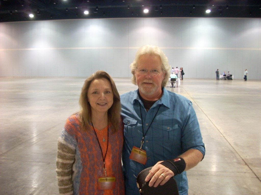 Jim and Lynna Woolsey.  Their album is titled, The Road That Brings You Home.
