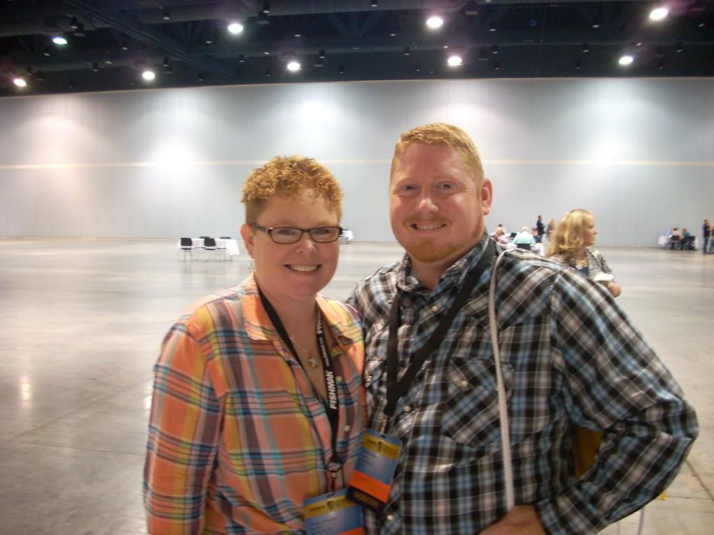 Dan & Caroline Routh, a.k.a. Nu-Blu.