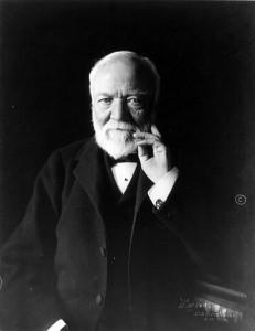 Andrew Carnegie, 1913.