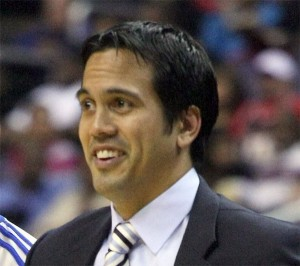 Head coach Eric Spoelstra, meh?. Photo: Lpdrew, Creative Commons, some rights reserved