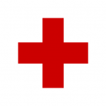 As far as I'm concerned, this is all the branding the Red Cross needs...if it's doing its job well. Photo: public domain