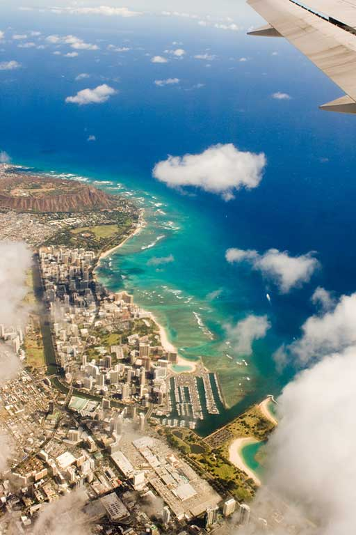Waikiki from the air. Photo: Christopher Rose, Creative Commons, some rights reserved