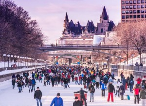 Ottawa Tourism wants you to know a really cold February does make for pretty good ice. The RIdeau Canal set a new record for consecutive days of skating: this Sunday it'll be 51 and counting.