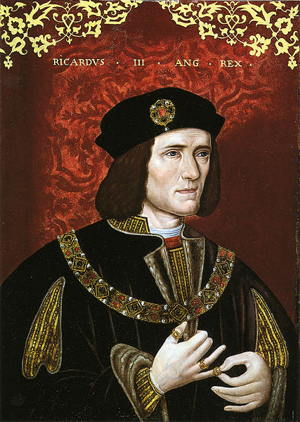 King Richard III, by unknown artist, late 16th century. National Portrait Gallery