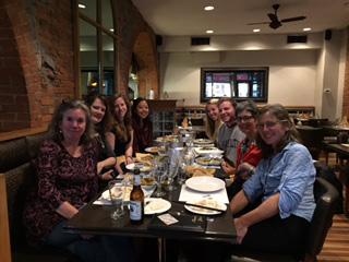 Dinner with the Hamilton College students at a Thai restaurant.