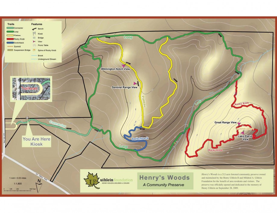 henry's woods map