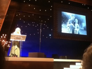 Alison Krauss' induction of  Larry Sparks into the Bluegrass Hall of Fame.