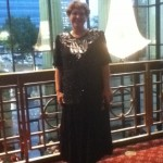 Me - sparkling on arrival at the IBMA awards in Raleigh, NC.